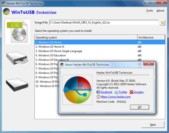 WinToUSB Enterprise Crack + Serial Key latest 2021 Free