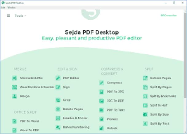 Sejda PDF Desktop Pro Crack 7.3.2 + License Key 2021 [Latest]
