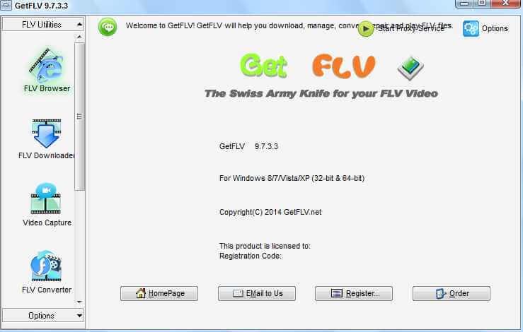 GetFLV Pro Registration Code + Serial Number Download Full Version